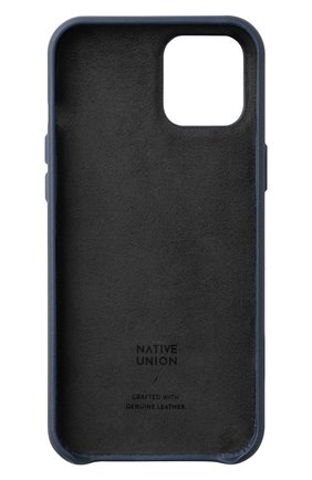 Чехол clic classic для iphone 12 pro max  NATIVE UNION синего цвета, арт. CCLAS-BLU-NP20L   Фото 2