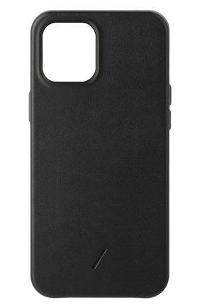 Чехол clic classic для iphone 12 pro max  NATIVE UNION черного цвета, арт. CCLAS-BLK-NP20L   Фото 1