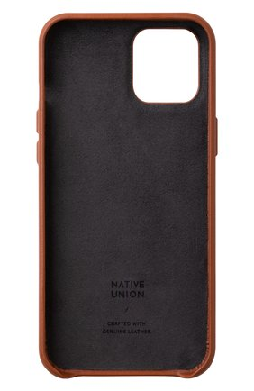 Чехол clic card для iphone 12 pro max  NATIVE UNION коричневого цвета, арт. CCARD-TAN-NP20L | Фото 2