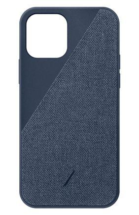Чехол clic canvas для iphone 12 mini NATIVE UNION синего цвета, арт. CCAV-IND-NP20S | Фото 1
