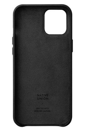 Чехол clic card для iphone 12 pro max  NATIVE UNION черного цвета, арт. CCARD-BLK-NP20L   Фото 2