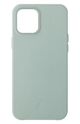 Чехол clic classic для iphone 12 pro max  NATIVE UNION светло-зеленого цвета, арт. CCLAS-GRN-NP20L   Фото 1