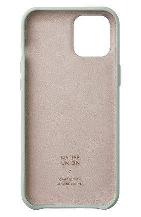 Чехол clic classic для iphone 12 pro max  NATIVE UNION светло-зеленого цвета, арт. CCLAS-GRN-NP20L   Фото 2