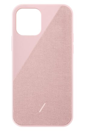 Чехол clic canvas для iphone 12 pro max  NATIVE UNION розового цвета, арт. CCAV-ROS-NP20L   Фото 1