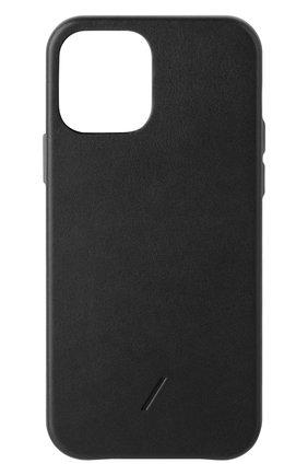 Чехол clic classic для iphone 12/12 pro NATIVE UNION черного цвета, арт. CCLAS-BLK-NP20M   Фото 1