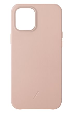Чехол clic classic для iphone 12 pro max  NATIVE UNION розового цвета, арт. CCLAS-NUD-NP20L   Фото 1