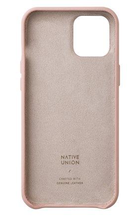 Чехол clic classic для iphone 12 pro max  NATIVE UNION розового цвета, арт. CCLAS-NUD-NP20L   Фото 2