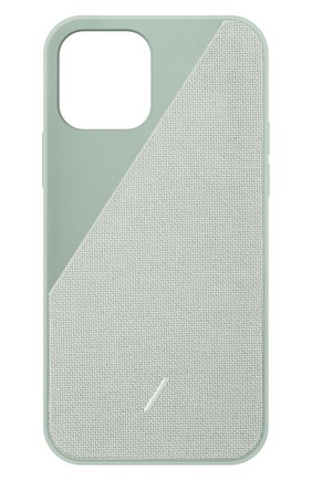 Чехол clic canvas для iphone 12 mini NATIVE UNION светло-зеленого цвета, арт. CCAV-GRN-NP20S   Фото 1