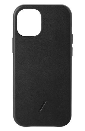 Чехол clic classic для iphone 12 mini NATIVE UNION черного цвета, арт. CCLAS-BLK-NP20S   Фото 1