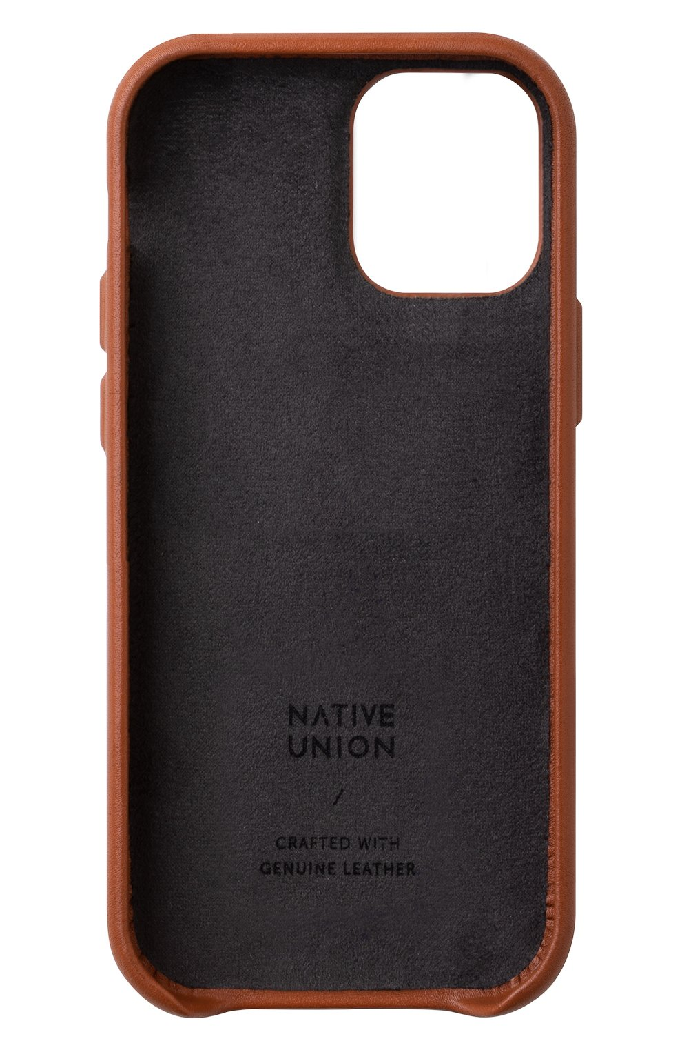 Чехол clic card для iphone 12 mini NATIVE UNION коричневого цвета, арт. CCARD-TAN-NP20S   Фото 2
