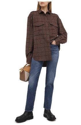 Женские джинсы TOTÊME синего цвета, арт. 211-237-740 | Фото 2