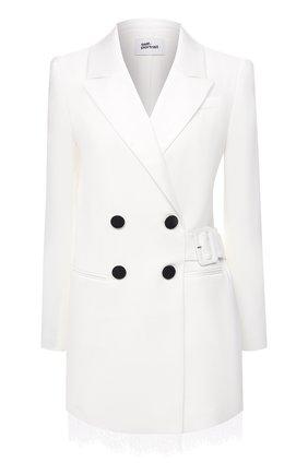 Женское платье SELF-PORTRAIT белого цвета, арт. RS21-139 | Фото 1