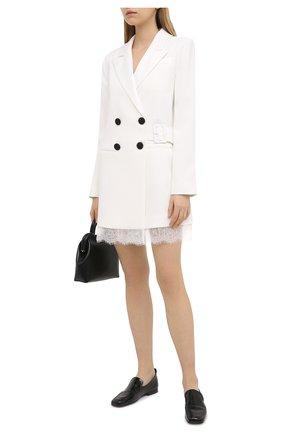 Женское платье SELF-PORTRAIT белого цвета, арт. RS21-139 | Фото 2