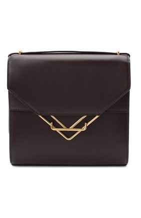 Женская сумка clip BOTTEGA VENETA фиолетового цвета, арт. 652391/V0I42 | Фото 1