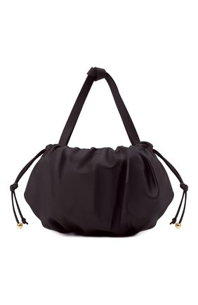 Женская сумка bulb medium BOTTEGA VENETA темно-фиолетового цвета, арт. 651812/VCP40 | Фото 1 (Размер: medium; Материал: Натуральная кожа; Сумки-технические: Сумки top-handle)