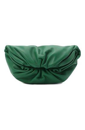 Женская поясная сумка the belt chain pouch BOTTEGA VENETA зеленого цвета, арт. 651445/VCP41 | Фото 1