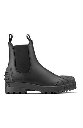 Женские кожаные ботинки dior iron DIOR черного цвета, арт. KDI646CRUS900   Фото 1
