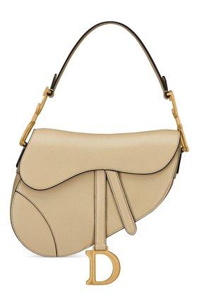 Женская сумка saddle DIOR бежевого цвета, арт. M0446CCEHM39U   Фото 1