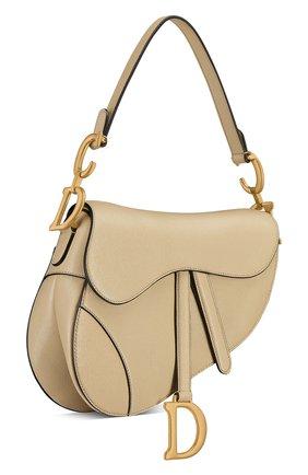 Женская сумка saddle DIOR бежевого цвета, арт. M0446CCEHM39U   Фото 2