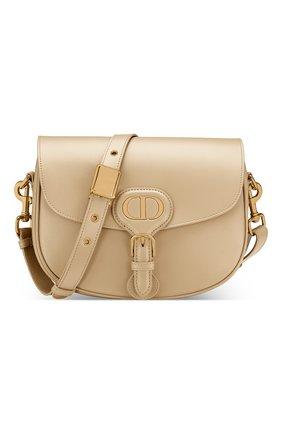 Женская сумка dior bobby medium DIOR бежевого цвета, арт. M9319UMOLM39U | Фото 1 (Сумки-технические: Сумки через плечо; Размер: medium; Материал: Натуральная кожа)