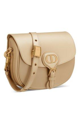 Женская сумка dior bobby medium DIOR бежевого цвета, арт. M9319UMOLM39U | Фото 2 (Сумки-технические: Сумки через плечо; Размер: medium; Материал: Натуральная кожа)
