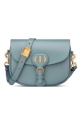 Женская сумка dior bobby medium DIOR голубого цвета, арт. M9319UMOLM81B   Фото 1