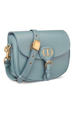 Женская сумка dior bobby medium DIOR голубого цвета, арт. M9319UMOLM81B   Фото 2