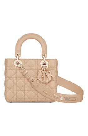 Женская сумка lady dior my abcdior DIOR бежевого цвета, арт. M0538OCEAM39U   Фото 1