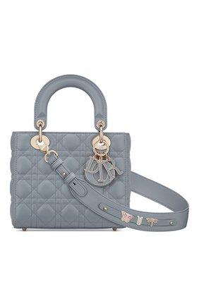 Женская сумка lady dior my abcdior DIOR серого цвета, арт. M0538OCEAM81B   Фото 1