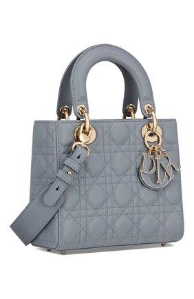 Женская сумка lady dior my abcdior DIOR серого цвета, арт. M0538OCEAM81B   Фото 2