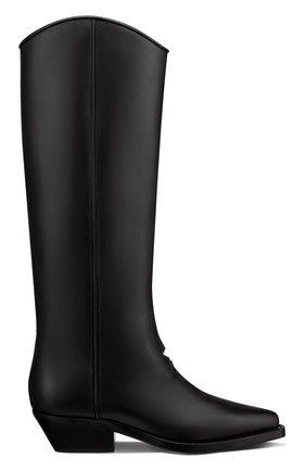 Женские кожаные сапоги dior l.a. DIOR черного цвета, арт. KCI658VEAS900   Фото 1