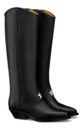 Женские кожаные сапоги dior l.a. DIOR черного цвета, арт. KCI658VEAS900   Фото 2