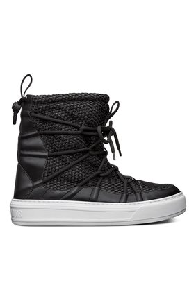 Женские комбинированные ботинки dior solar DIOR черного цвета, арт. KCI661RCAS900 | Фото 1
