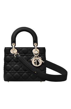 Женская сумка lady dior my abcdior DIOR черного цвета, арт. M0538OCALM900   Фото 1