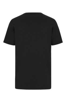 Мужская хлопковая футболка DIOR черного цвета, арт. 043J615A0589C980   Фото 2