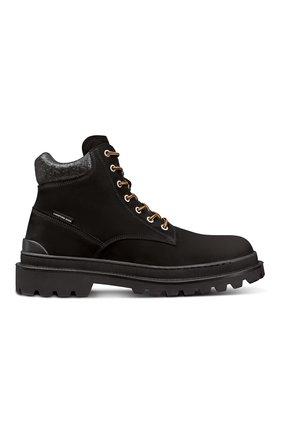 Мужские замшевые ботинки explorer DIOR черного цвета, арт. 3BO249ZHOH969   Фото 1