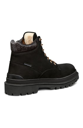Мужские замшевые ботинки explorer DIOR черного цвета, арт. 3BO249ZHOH969   Фото 2