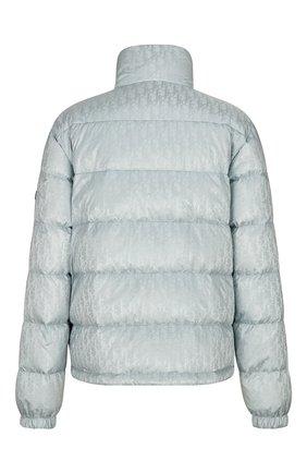 Мужская пуховая куртка DIOR серого цвета, арт. 943C449A4462C878   Фото 2