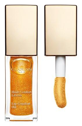 Масло-блеск для губ lip comfort oil 07 CLARINS бесцветного цвета, арт. 80046563 | Фото 1