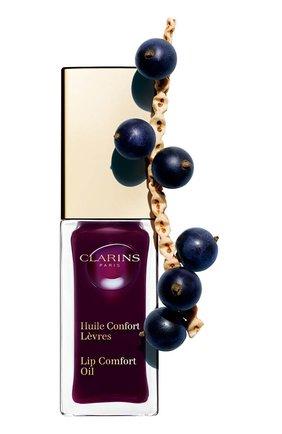 Масло-блеск для губ lip comfort oil 08, 7 мл CLARINS бесцветного цвета, арт. 80046564 | Фото 2
