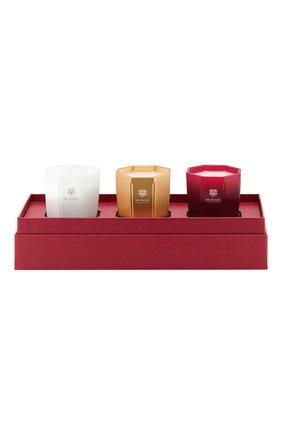 Ароматические свечи rosso nobile, oud nobile, ginger lime DR. VRANJES FIRENZE бесцветного цвета, арт. FRV20-H164214 | Фото 1