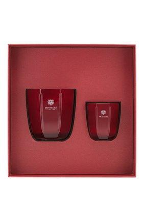 Подарочный набор свеча и свеча rosso nobile DR. VRANJES FIRENZE бесцветного цвета, арт. FRV20-D16 | Фото 1