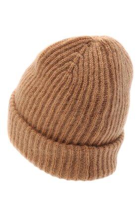 Женская шапка adalyn BALMUIR бежевого цвета, арт. 125800 | Фото 2