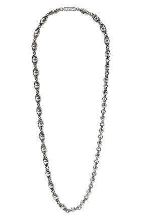 Женское цепь черепа GL JEWELRY серебряного цвета, арт. M600005-S97-01 | Фото 1