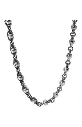 Женское цепь черепа GL JEWELRY серебряного цвета, арт. M600005-S97-01 | Фото 2