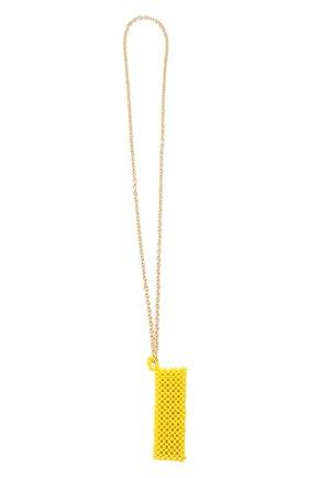 Женское колье-чехол HIAYNDERFYT желтого цвета, арт. 1421.6 | Фото 1
