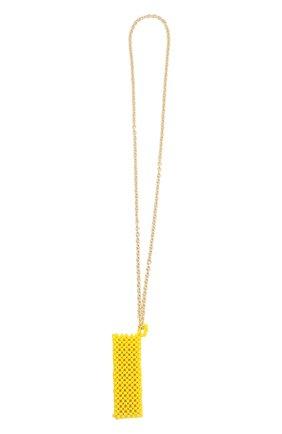 Женское колье-чехол HIAYNDERFYT желтого цвета, арт. 1421.6 | Фото 2