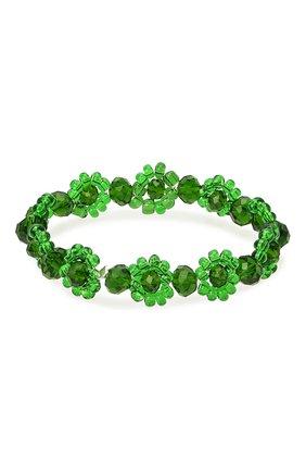 Женский браслет хэппи нью йер HIAYNDERFYT зеленого цвета, арт. 1421.2.4 | Фото 1