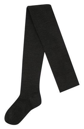 Женские колготки FALKE серого цвета, арт. 48425 | Фото 1