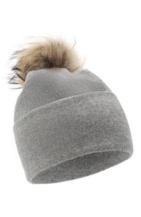 Женская шапка BILANCIONI серого цвета, арт. 4914CM   Фото 1